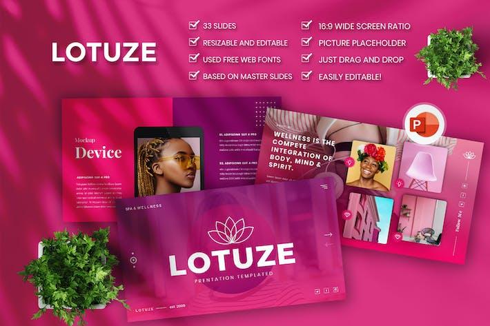 Lotuze — Творческий бизнес PowerPoint