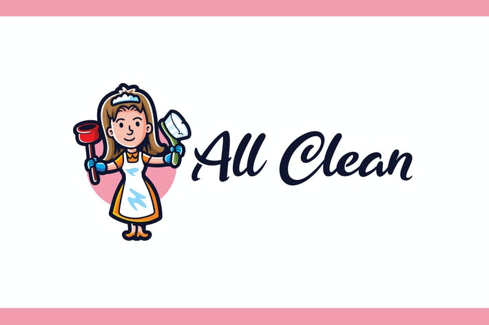 Thumbnail for All Clean - Maid Service and Housekeeping Logo