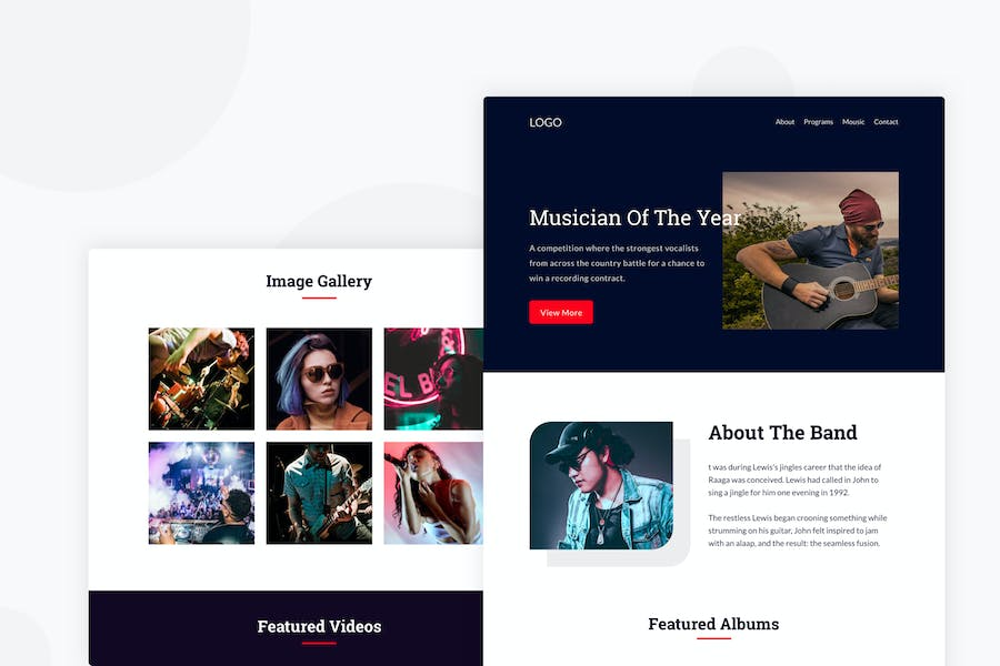 A Creative Music - Email Newsletter