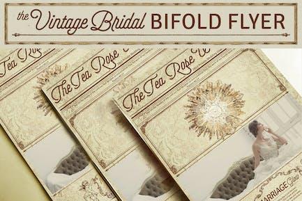 Vintage Bridal Bifold Flyer