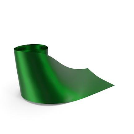 Green Round Roll Silk Ribbon