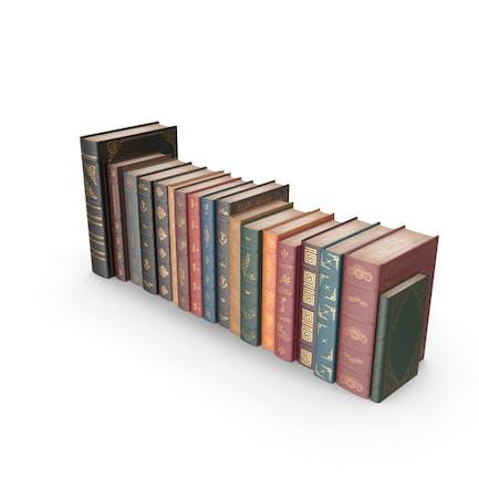 Reihe klassischer Bücher