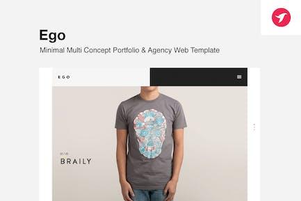 Ego - Multi Concept Portfolio -Freelancer / Agency