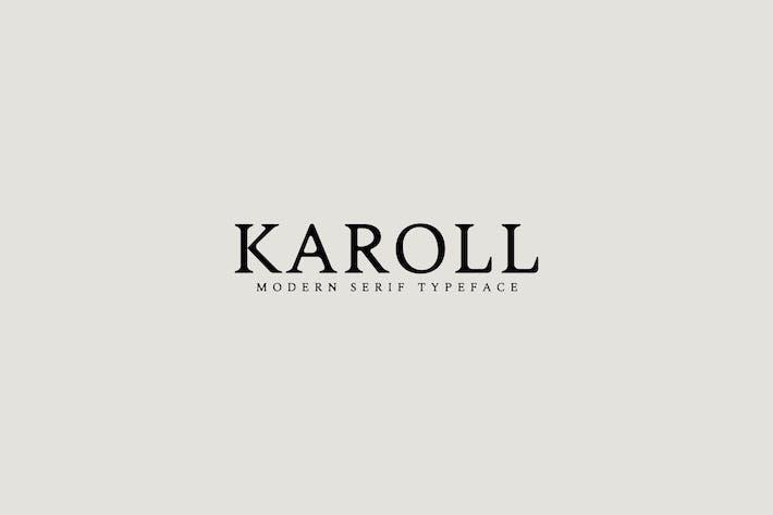 Thumbnail for Karoll Modern Serif Font Family