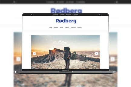 Rodberg - Travel Blogging Theme