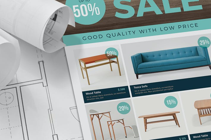 Thumbnail for Furniture Sale Flyer