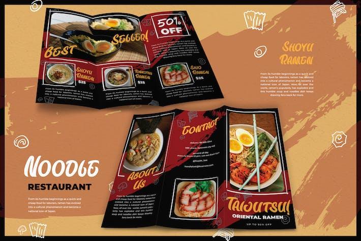 Thumbnail for Dark Modern Noodles Restaurant - Brochure