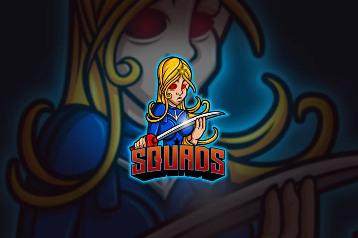 Thumbnail for Girl Squad - Mascot & Esport Logo