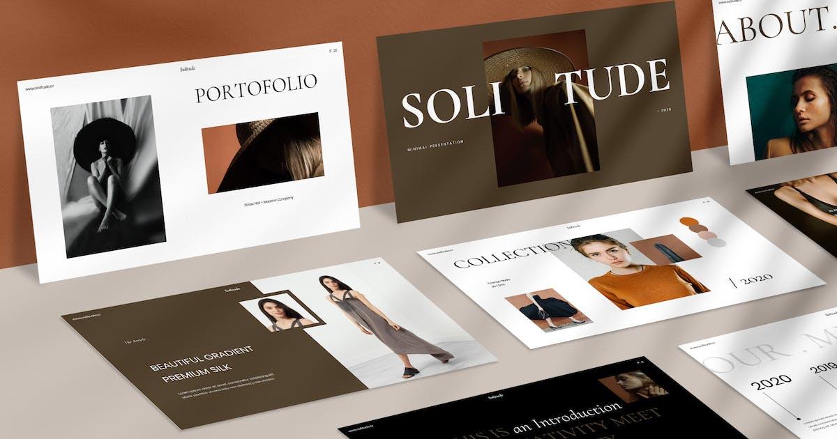 Download Solitude Powerpoint by visuelcolonie
