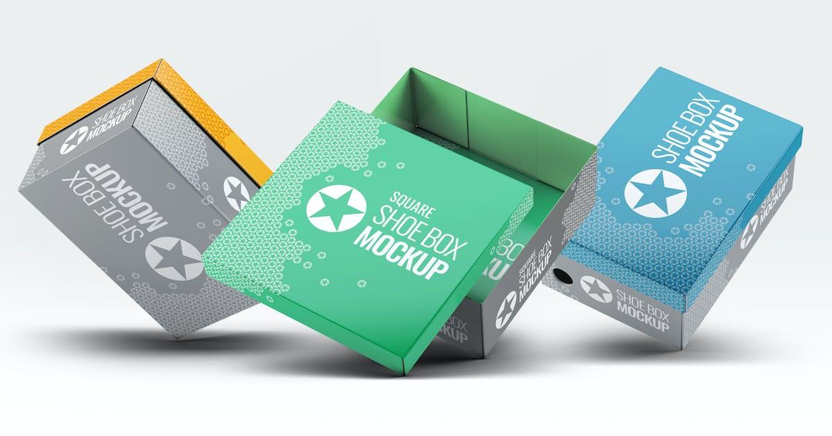 Download Shoe Boxes Mock-Up Bundle by L5Design