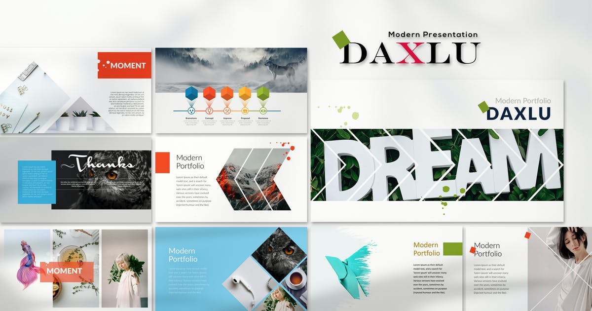 Download Daxlu - Keynote Template by Artmonk