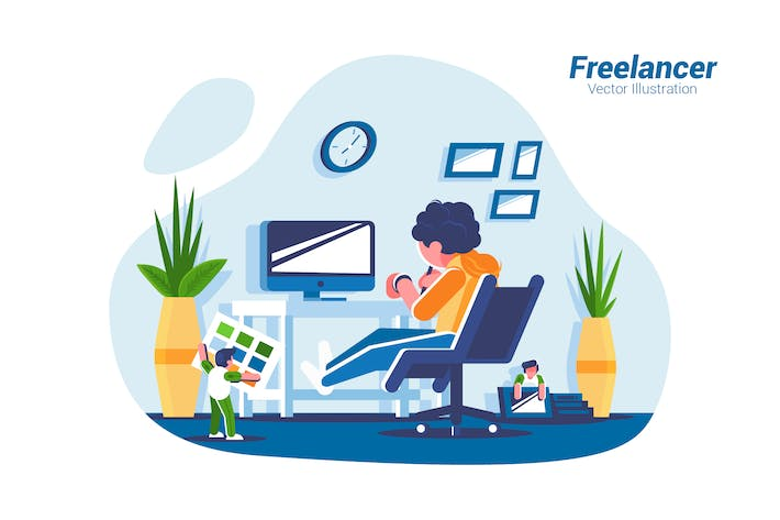 Thumbnail for Freelancer - Vector Illustration
