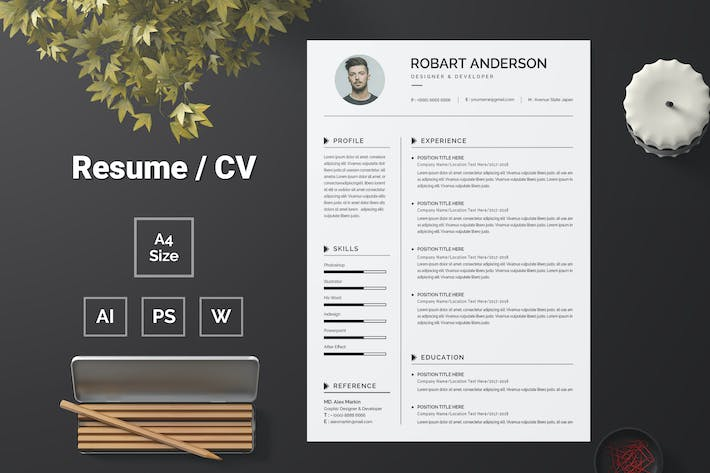 Thumbnail for Resume Template 81
