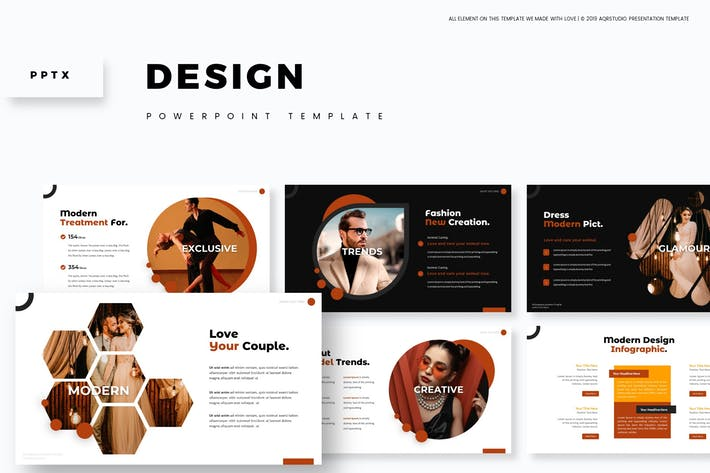 Thumbnail for Design - Powerpoint Template