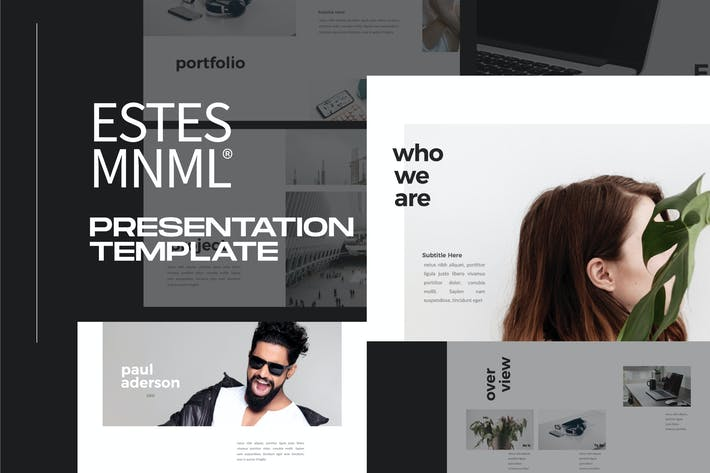 Thumbnail for ESTES - Powerpoint Business Minimal Corporate