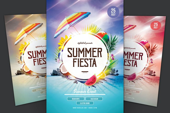 Thumbnail for Summer Fiesta Flyer
