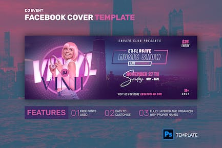 Facebook Cover | Exclusive Music Show