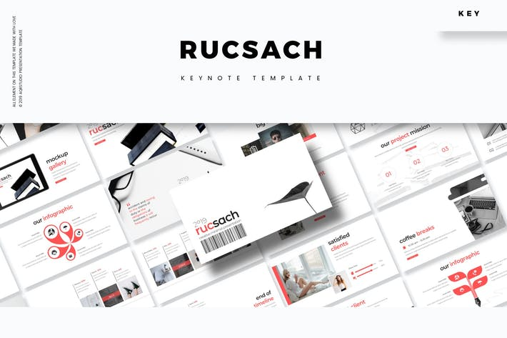Cover Image For Rucsach - Keynote Template