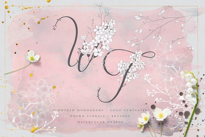 Thumbnail for Flowered Monogram & Logo Collection