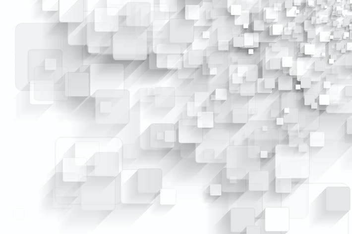Thumbnail for Abstract grey tech geometric squares background