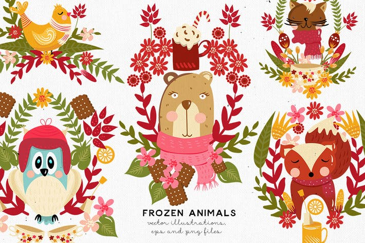 Thumbnail for Frozen Animals