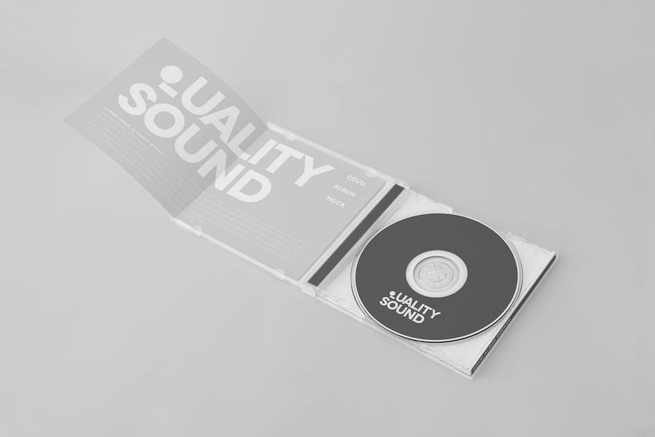 Download CD/DVD Album Mock-up by yogurt86