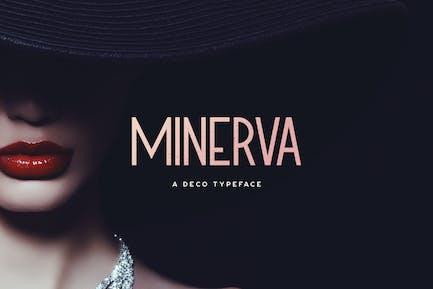 Minerva Tipo de letra
