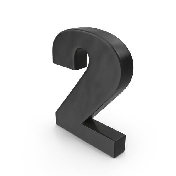 Cover Image for Number 2 Fridge Magnet