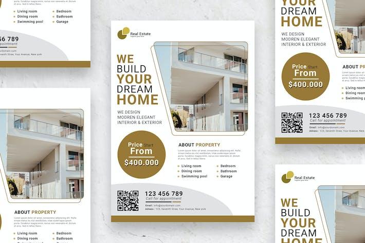 Cover Image For Elegant Real Estate - Poster