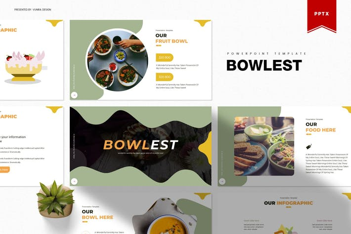 Thumbnail for Bowlest | Powerpoint Template