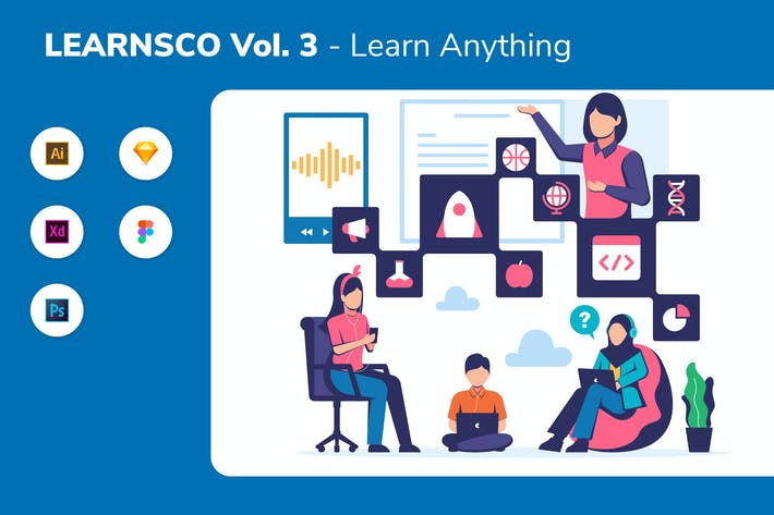 Thumbnail for LEARNSCO Vol.3 - Learn Anything