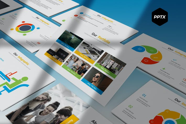 Thumbnail for Globe Biz - Powerpoint Template