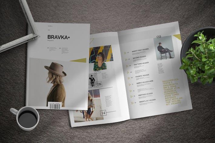 Thumbnail for Bravka+ | Magazine Template