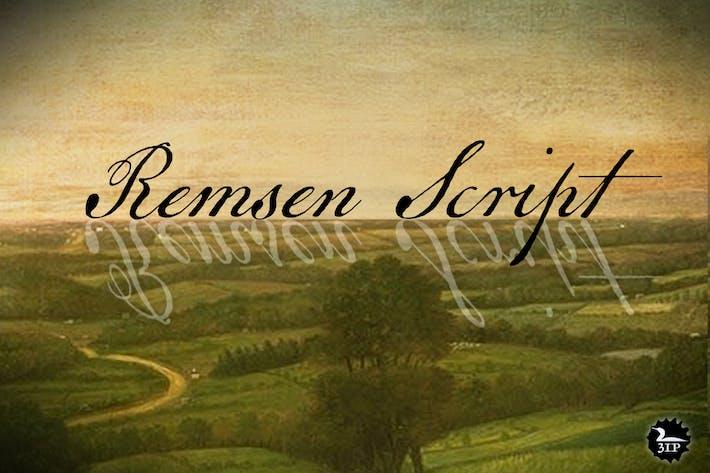 Thumbnail for Remsen Script