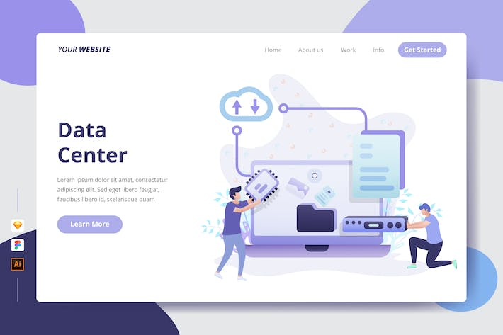 Thumbnail for Data Center - Landing Page