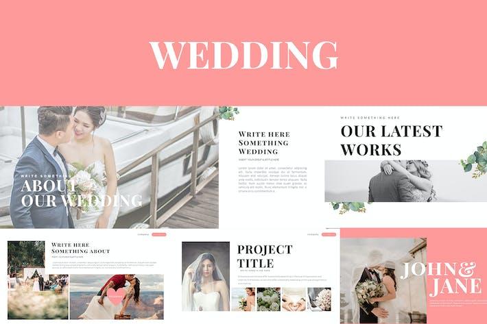 Thumbnail for WEDDING Google Slides