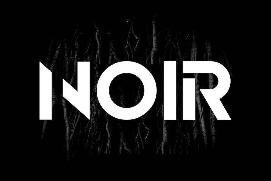 NOIR - Unique & Modern Display / Logo Typeface