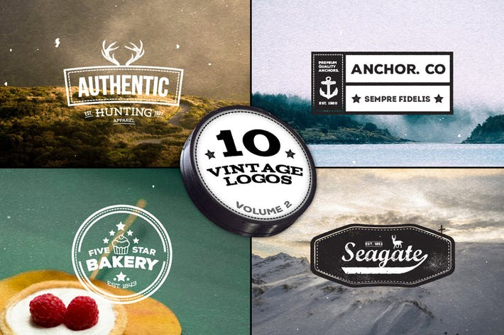 Thumbnail for 10 Vintage Logos - Volume 2