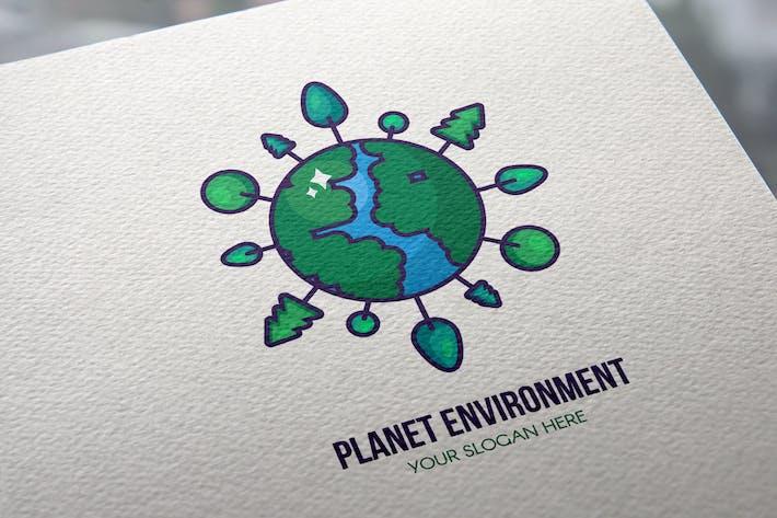 Thumbnail for Planet Environment Logo