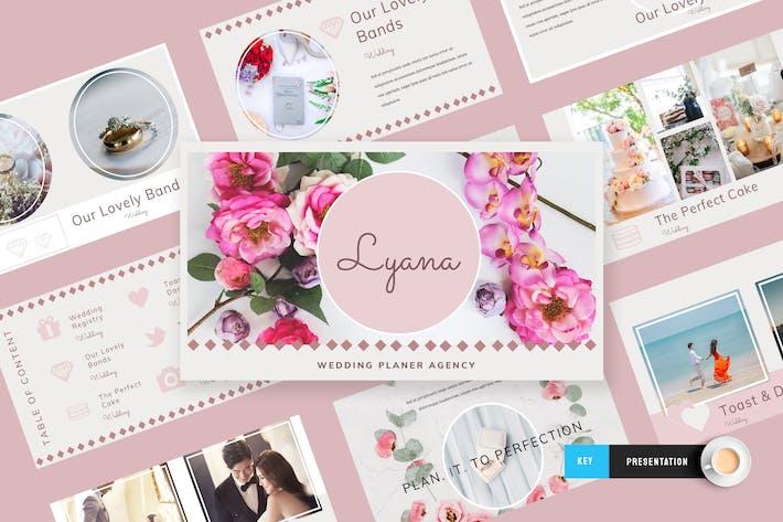 Lyana - Wedding Planner Keynote