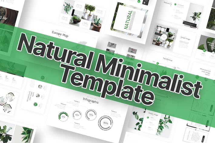 Thumbnail for Natural Powerpoint Template