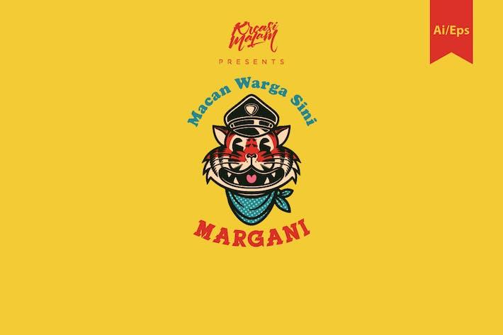 Thumbnail for Margani Logo Template