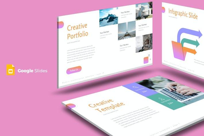 Thumbnail for Vamica - Google Slide Template