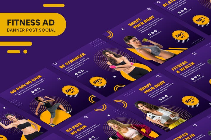 Fitness Banner Ad