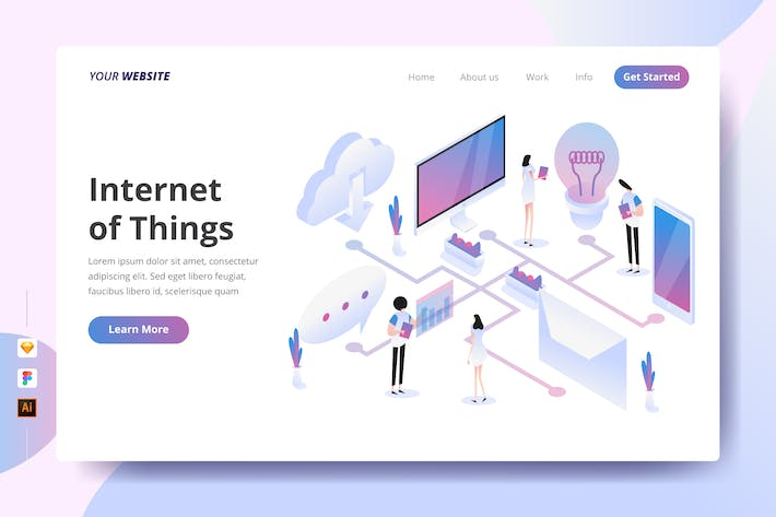 Thumbnail for Internet of Things - Landing Page