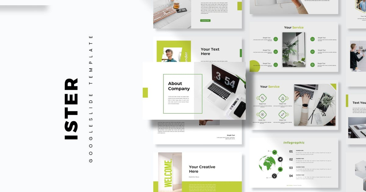 Download Ister - Google Slide Template by aqrstudio