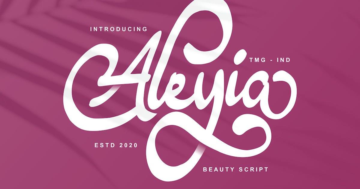 Download Aleyia Beauty Script by Fannanstudio