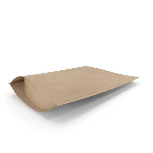 Zipper Kraft Paper Bag 200g