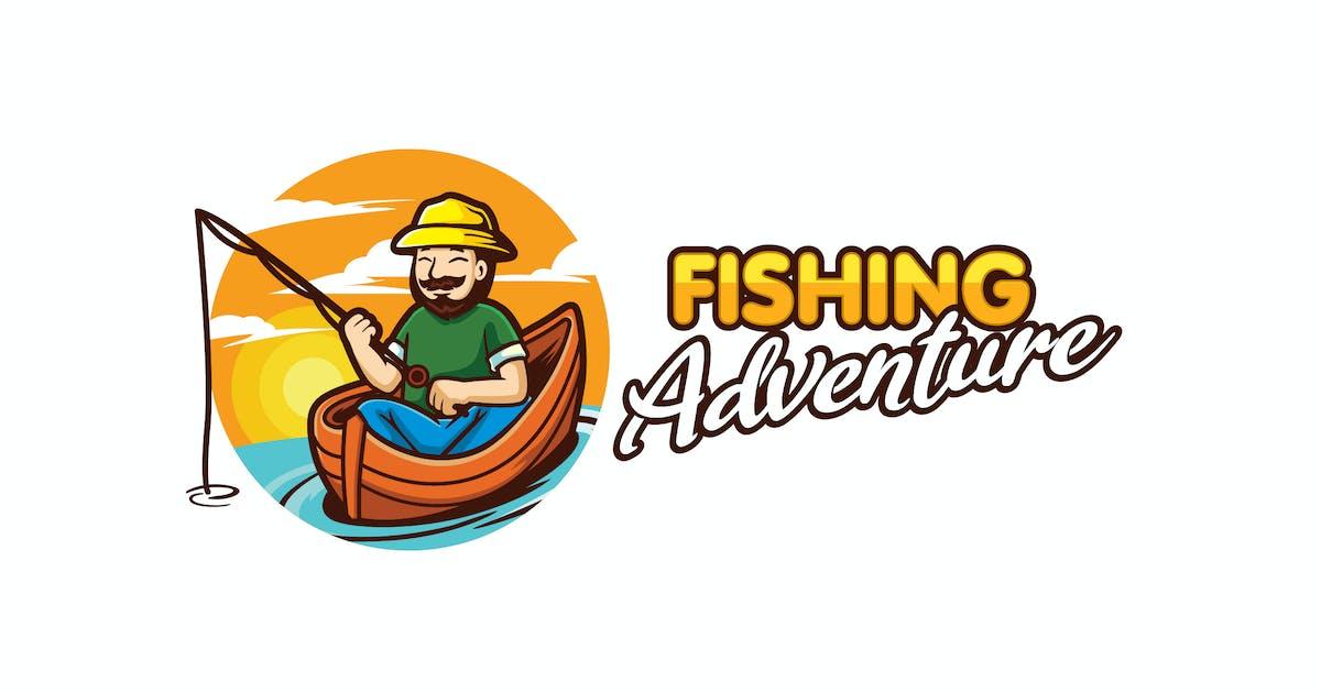 Download Cartoon Fishing Character Mascot Logo by Suhandi