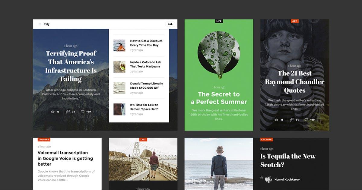Download Snug. UI Kit by kkuistore